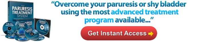paruresis treatment program shy bladder cure